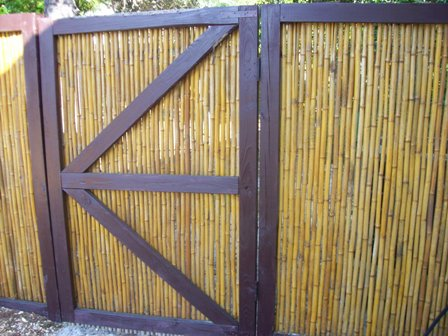 bamboo fencing, bamboo fence