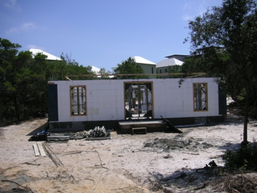 Icf insulating for Houses for small blocks