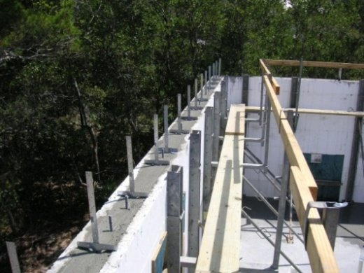 Concrete house plans that provide great value and protection for Icf house cost